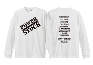 POWER STOCK【OFFICIAL デザイン2】LONG SLEEVE