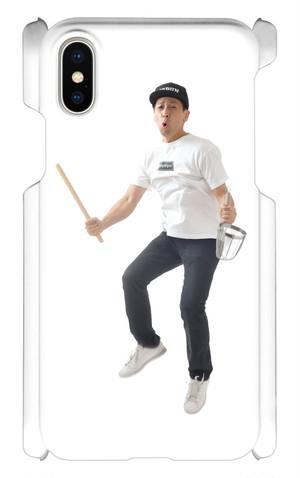 工場長のジャンピングスマホケース(iPhone X)