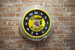 品番LW-001 バーライトネオン時計