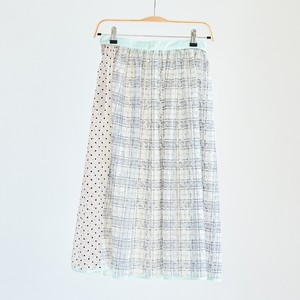 19SS Memory collage Skirt〈Mint〉