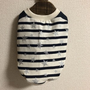 【受注製作】ボーダースター(シルバー)ラグランシャツ