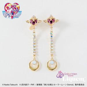 Sailor Moon store x Liquem / クライシス ・ムーン・コンパクト イヤリング
