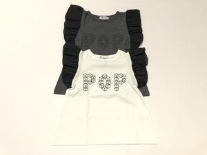 【20SS】フランキーグロウ ( frankygrow ) CUBE POP FRILL TEE[ S / M / L ]Tシャツ