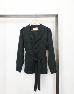 macphee/ belted military jacket