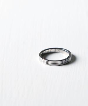 RF1908CJSR05【rufsh/ルフシュ】stainless line ring/ ステンレスリング RF1908CJSR05