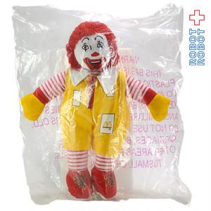 マクドナルド ロナルド ぬいぐるみ人形 1996 袋入