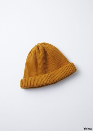 【ROTOTO】COTTON ROLL UP BEANIE