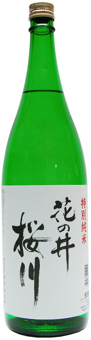 花の井 特別純米酒 桜川 1.8L