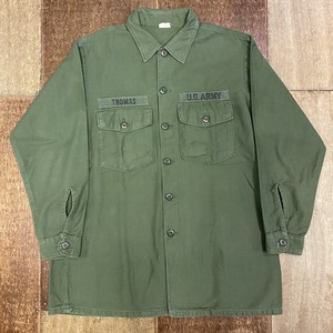 US ARMY ミリタリーシャツ 60's L