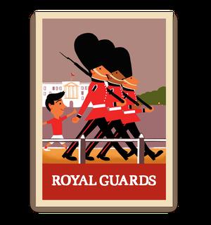 ロンドン ポストカード(衛兵)