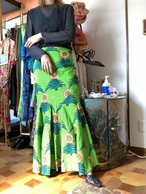 batik long skirt