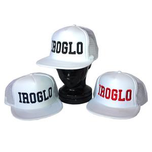 IROGLO(イログロ)CAP/メッシュキャップ/ホワイト