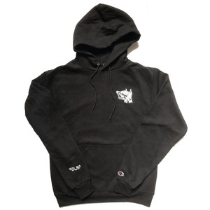 HOTEL BLUE / GUARD DOG CHAMPION HOODY BLACK