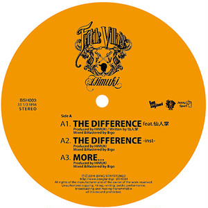 "【12""】HIMUKI - THE DIFFERENCE feat. 仙人掌"