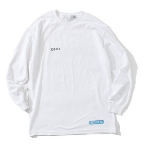JO DO IT DATA L/S T-SH(WHITE)