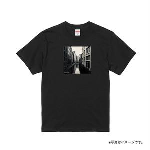 """""""心に火をつけて"""" T-shirt(Black)"""