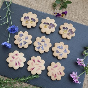 EDIBLE FLOWER COOKIES SET 【9枚入り】