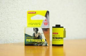 【 35mm カラーネガ 】 Lomography ( ロモグラフィー ) LomoChrome Metropolis ISO100-400 36枚撮り