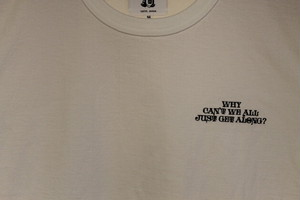 TACOMA FUJI RECORDS / WHY CAN'T WE ALL JUST GET ALONG? designed by Jerry UKAI