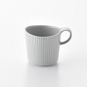 線彫 グレー マグカップ大