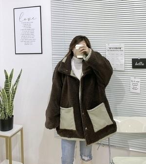 リバーシブルチョコミントルーズジャケット