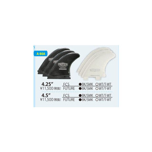"PROTECK FIN 4.5"" X-FOIL REGULAR SURFCO トライフィンセット FCS"