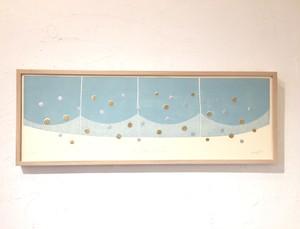 竹崎勝代「銀河」TAKEZAKI Katsuyo/woodblock print 'milky way-2'