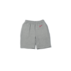 Logo Sweat Short Pants - Gray