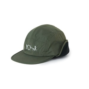 POLAR SKATE CO / FLAP CAP -ARMY GREEN-