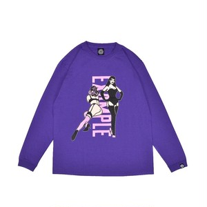 SEXY WOMEN'S L/S TEE /PURPLE