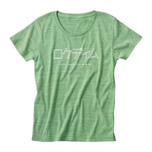 ロゴTシャツ:カタカナ|緑