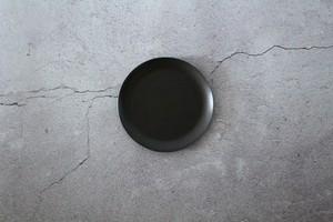 【 96 / Kuro 】黒染めステンレス ラウンドプレート round plate 126mm