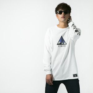 Mt.Galaxy Long sleeve T-shirt White