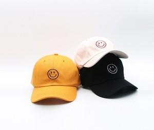 笑顔 帽子 UVカット おしゃれ 夏 3色