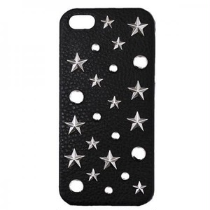 enchanted.LA STAR MIX STUDDED LEATHER COVER CASE #DREAMY STAR