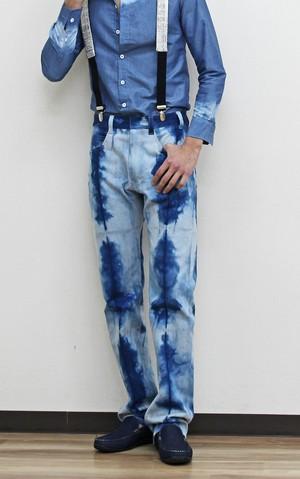 天藍ジーンズ(ストレート・5ポケット) Mサイズ