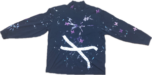 Dark butterfly long sleeve tee by Ko-di