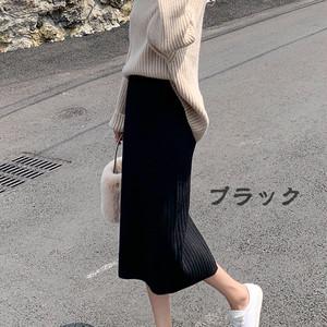 即納 ニットタイトスカート N4007