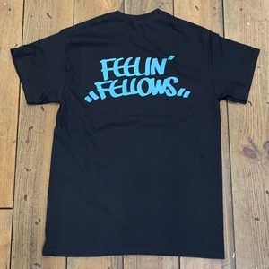 FEELIN' FELLOWS TEE (BLK x BLUE)