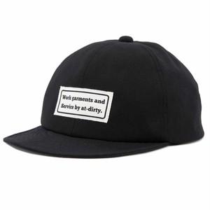 AT-DIRTY(アットダーティー)/BALL CAP (BLACK)