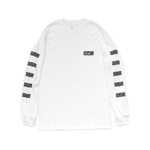 scar /////// BLACKBOX L/S TEE (White)