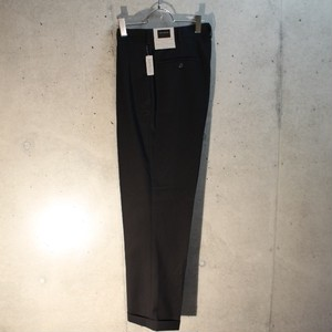 Rayon Poly Black 2Tuck Slacks