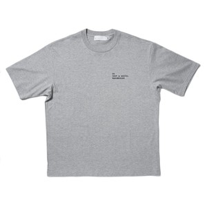 SO ORIGINAL Embroidered T-SHIRT(GRAY)