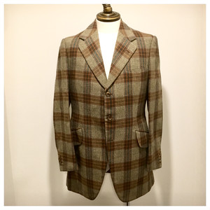 1970s Vintage Tweed Hacking Jacket  Regent & Gordon