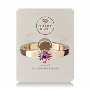 Smart Jewel-Lady Crown‐Champagne Gold-2月‐17SJ8-1-SGDLAM