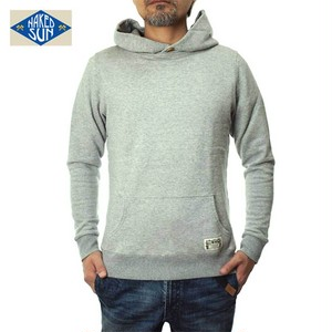 NS001005 SOLID P/O PARKA GRAY
