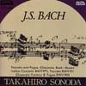 HTCA-1008 Bach Album 1(Piano/T. Sonoda /CD)