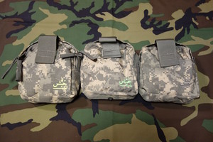 NEW ACU CAMO POUCH