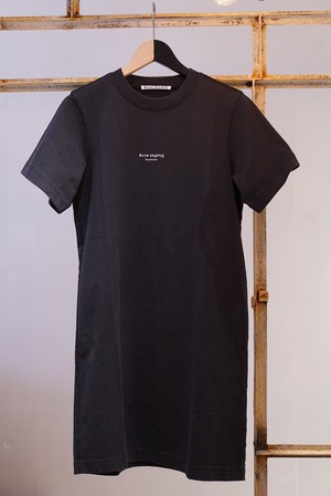Acne Studios / STAMP DRESSES (BLACK)