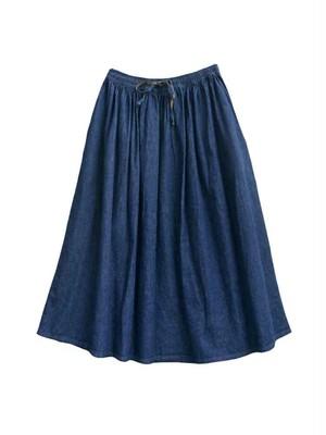 orSlow(オアスロウ)デニムギャザースカート GATHER SKIRT